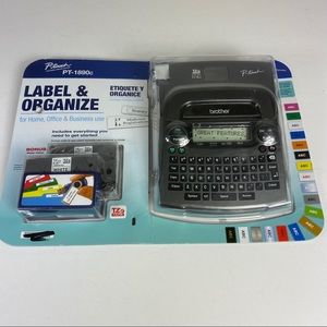 Brother P-touch Label Maker New PT-1890c